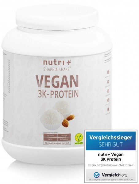 veganes 3 Komponenten Proteinpulver Coconut Almond Produktbild