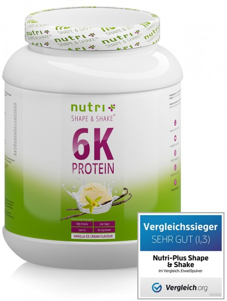Vegan 6K Proteinpulver