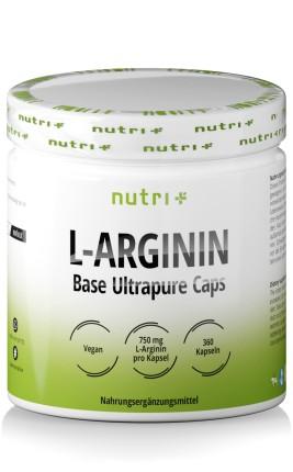 L-Arginin Base Ultrapure Kapseln