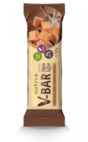 Protein-Riegel V-Bar Vegan - Choco-Toffee