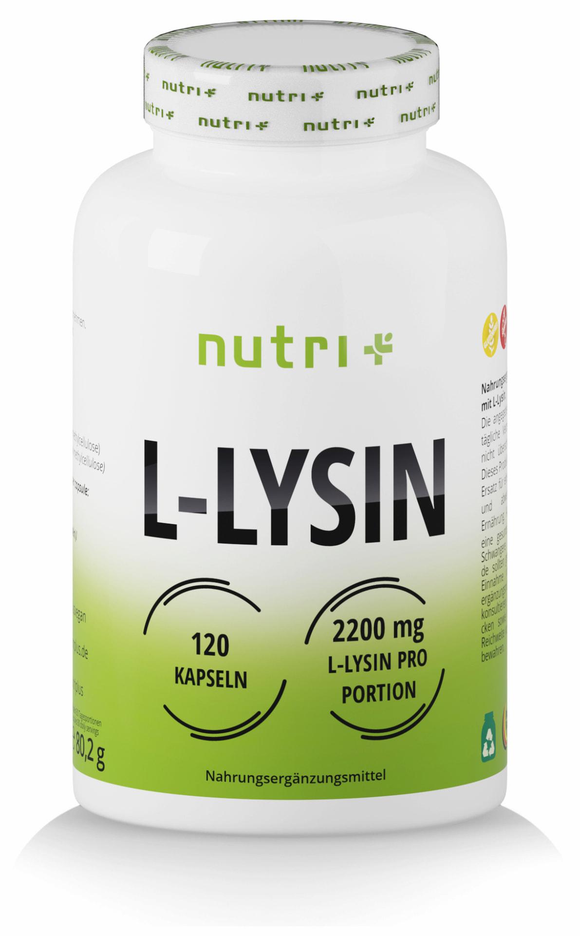L-Lysin Kapseln gegen Herpes